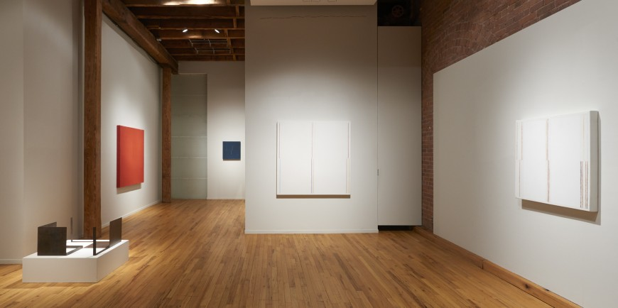 "Installation view of ""César Paternosto, Rhythm of the Line"" at Cecilia de Torres, Ltd., New York, Cecilia De Torres Ltd."