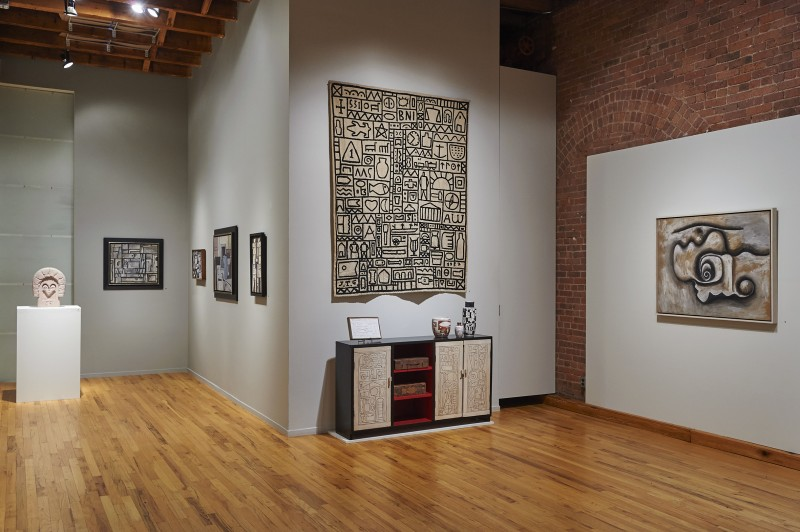 Installation view of The South was Their North at Cecilia de Torres, Ltd., New York, Cecilia De Torres Ltd.