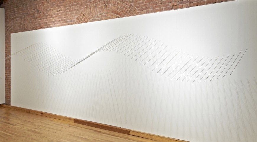 Installation view of Plano Flexionante 3, Cecilia De Torres Ltd.