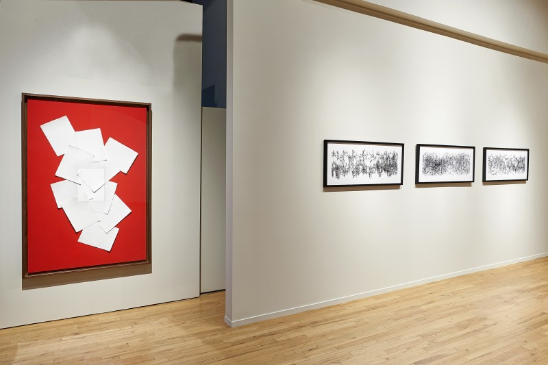 "Installation view of ""Expanding the Line"" at Cecilia de Torres, Ltd., New York - , Cecilia de Torres, Ltd."