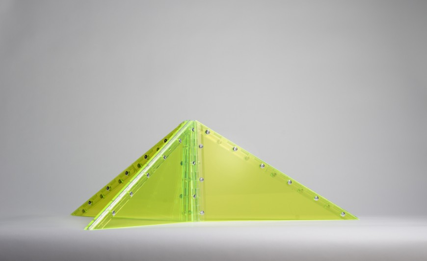 Convertible Triangle (Yellow) - Marta Chilindron, Cecilia de Torres, Ltd.