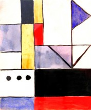 Composition 3 black dots - Hector Ragni, Cecilia De Torres Ltd.