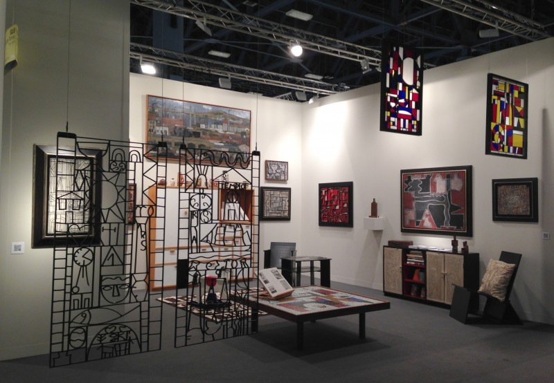 Installation view of the Cecilia de Torres Ltd. booth at the Survey sector, Cecilia De Torres Ltd.