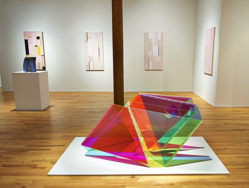Installation view of Mobius at Cecilia de Torres, Ltd. New York - Marta Chilindron, Cecilia De Torres Ltd.