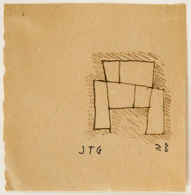 Drawing for a monument - Joaquín Torres-García, Cecilia De Torres Ltd.