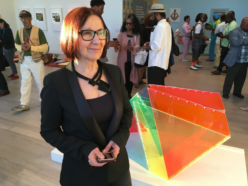 "Marta Chilindron at The Wallach Art Gallery exhibition ""Uptown"" - Marta Chilindron, Cecilia de Torres, Ltd."