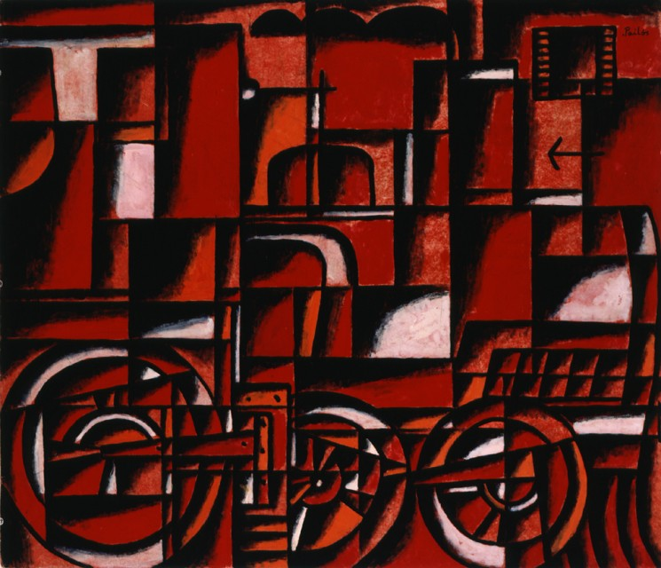 Locomotive in Red and Black - Manuel Pailós, Cecilia De Torres Ltd.