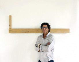 Jesús Matheus at his studio in Boston - Jesús Matheus, Cecilia De Torres Ltd.