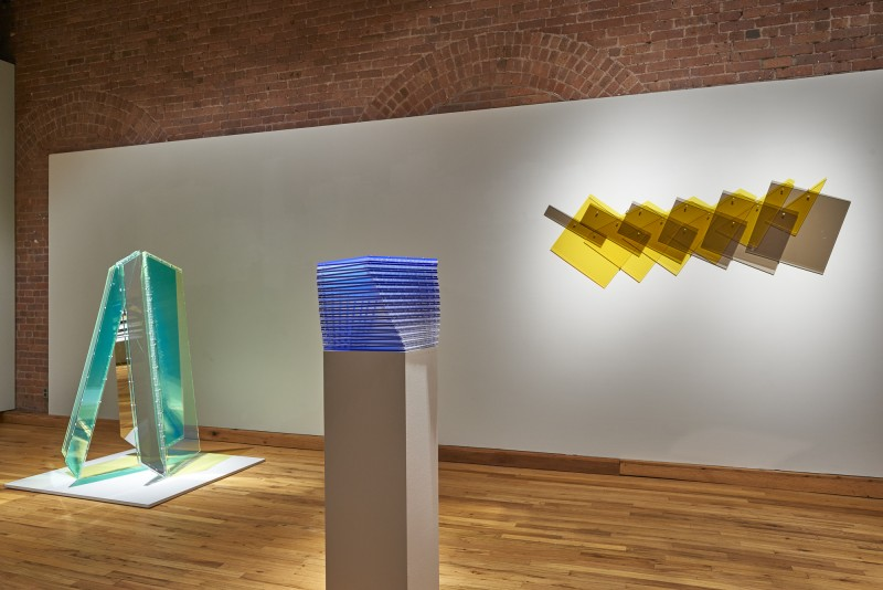 "Installation view of ""Geometry at Play. Sculpture by Marta Chilindron"" at Cecilia de Torres, Ltd., New York - , Cecilia de Torres, Ltd."
