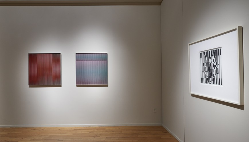 "Installation view of ""Kinetic Masters & Their Legacy"" at Cecilia de Torres, Ltd., New York, 2019. - , Cecilia de Torres, Ltd."