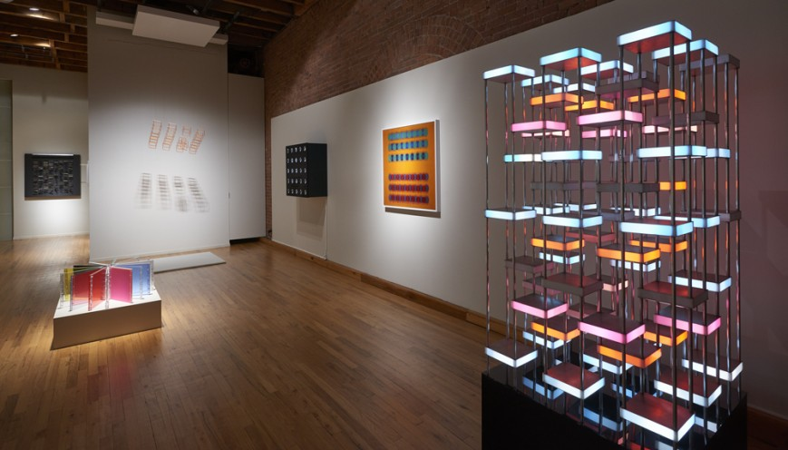 "Installation view of ""Kinetic Masters & Their Legacy"" at Cecilia de Torres, Ltd., New York, 2019., Cecilia De Torres Ltd."