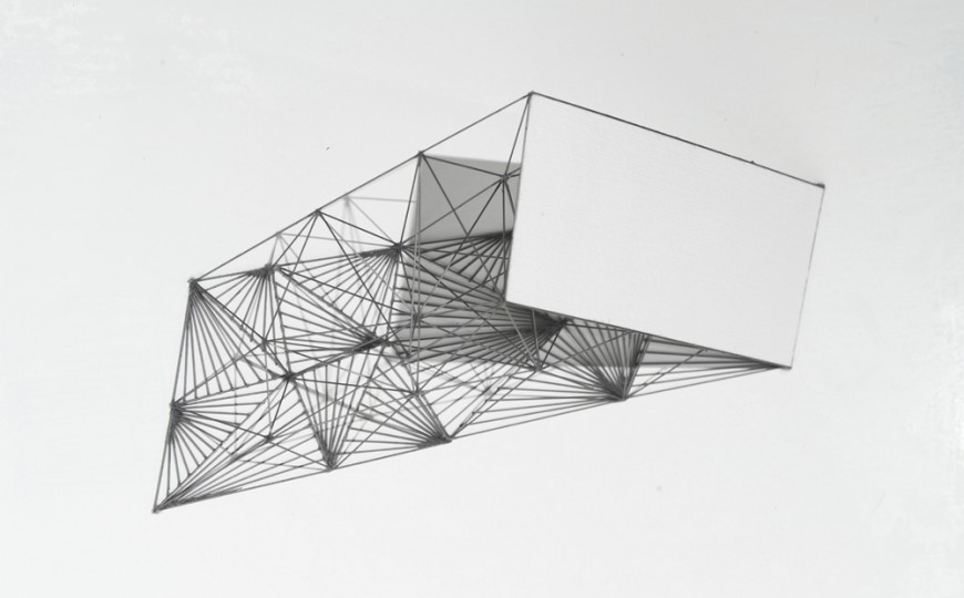 Untitled graphite construction - Mariano Dal Verme, Cecilia De Torres Ltd.