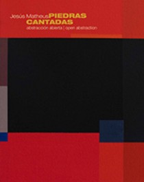 Cover of the catalogue titled Jesús Matheus Piedras Cantadas