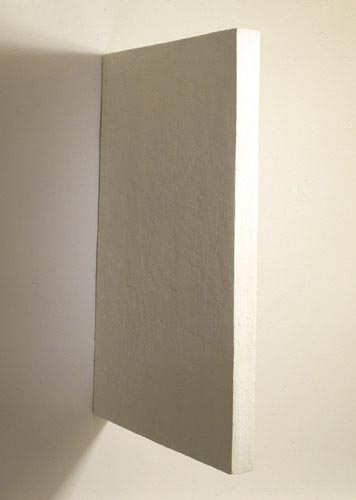 White Rectangle Painting - , Cecilia de Torres, Ltd.