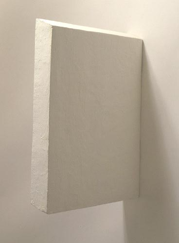 White Medium Rectangle Painting - , Cecilia de Torres, Ltd.