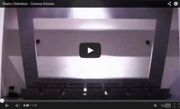 VIDEO: Cinema Kinesis - Marta Chilindron, Cecilia De Torres Ltd.