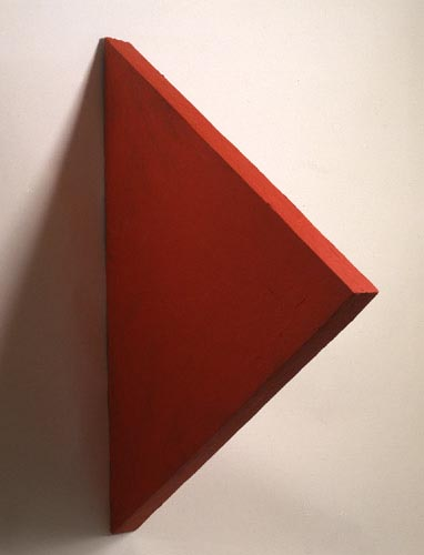 Red Triangle Painting - , Cecilia de Torres, Ltd.