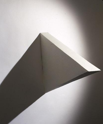 White Medium Triangle - , Cecilia de Torres, Ltd.