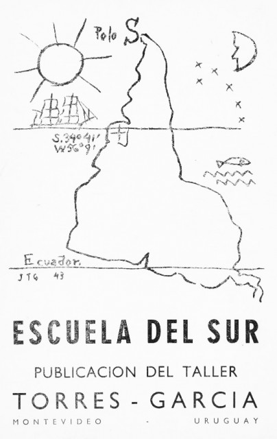 Cover of the 1958 issue of Escuela del Sur, Montevideo